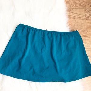 Victoria Secret bikini skirt size:M aqua comfy